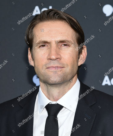 Stock Image of EVP/President, AOL Content & Consumer Brands Jimmy Maymann attends the AOL NewFront at the South Street Seaport, in New York