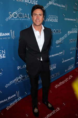 Nelson De La Nuez arrives at Backstage At The Geffen Gala, in Los Angeles