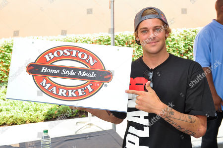 Pro skateboarder Ryan Sheckler attends an event benefiting The Sheckler Foundation at Boston Market on in North Arlington, N.J