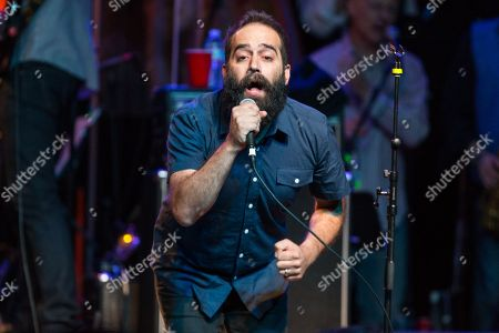 Sebu Simonian of Capital Cities performs on stage during Brian Fest: A Night To Celebrate The Music Of Brian Wilson at the Fonda Theatre, in Los Angeles
