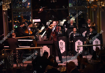 Editorial photo of Brian Newman Performance at the Rainbow Room, New York, USA - 18 Sep 2015