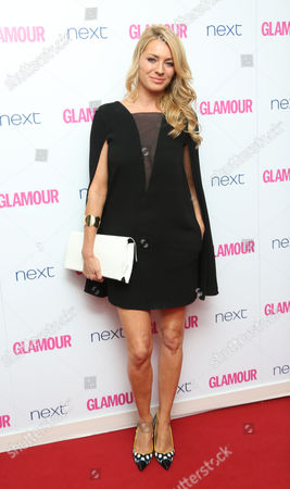 Stock Photo of Tess Daley arrives for the Glamour Magazine Women Of The Year Awards at Berkeley Square Gardens in central London