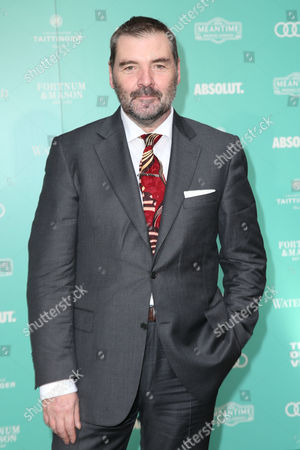 Actor Brendan Coyle poses for photographers upon arrival at the Old Vic Summer Gala in London