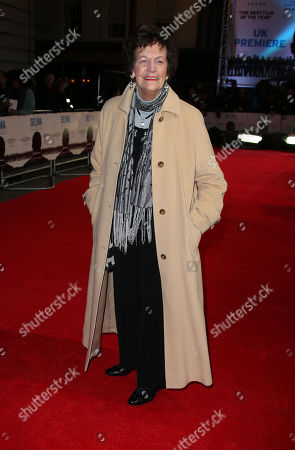 Philomena Lee poses for photographers at a central London cinema, for the European premiere of Selma, a film about a three month campaign led by Martin Luther King Jr, which culminated in a march from Selma to Montgomery, Alabama