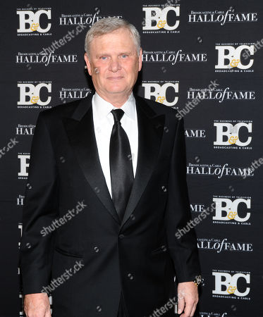 Honoree Randy Falco, Univision Communications Inc. president and CEO, attends the 23rd Annual Broadcasting & Cable Hall of Fame Awards at the Waldorf-Astoria, in New York