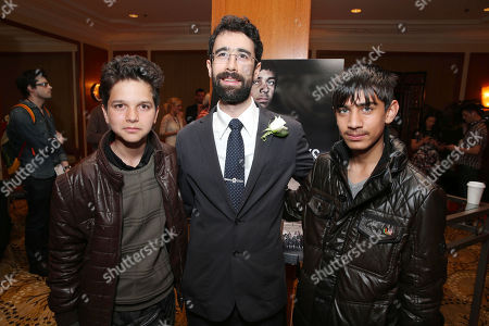 Stock Photo of Jawanmard Paiz, Director/Producer Ariel Nasr and Fawad Mohammadi at The Canadian Consulate Pre Oscar Luncheon for the 2013 Academy Awards, on Thursday, Feb., 21, 2013 in Beverly Hills