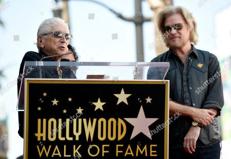 Editorial photo of Daryl Hall and John Oats Honored With a Star on the Hollywood Walk of Fame, Los Angeles, USA - 2 Sep 2016