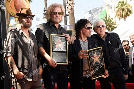 Editorial image of Daryl Hall and John Oats Honored With a Star on the Hollywood Walk of Fame, Los Angeles, USA - 2 Sep 2016