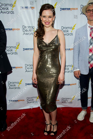 Molly Ranson arrives at the 57th Annual Drama Desk Awards on in New York