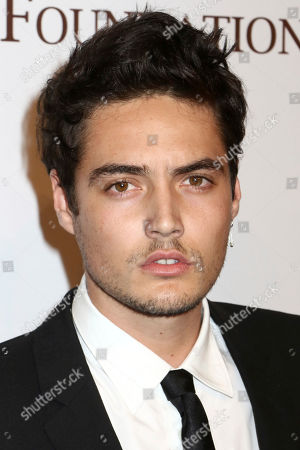 Levi Dylan attends the Elton John AIDS Foundation's 15th Annual An Enduring Vision Benefit at Cipriani Wall Street, in New York