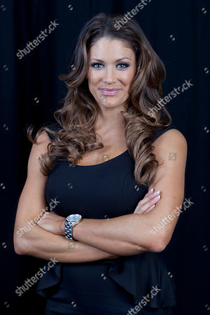 Stock Picture of American dancer, model, professional wrestler, valet and actress Eve Torres poses for a portrait, on in New York