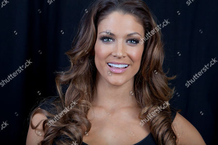 Stock Photo of American dancer, model, professional wrestler, valet and actress Eve Torres poses for a portrait, on in New York