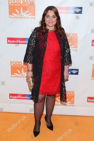 Francesca Lavazza attends the Food Bank For New York City Can-Do Awards Dinner at Cipriani Wall Street, in New York