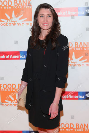 Julia Landauer attends the Food Bank For New York City Can-Do Awards Dinner at Cipriani Wall Street, in New York