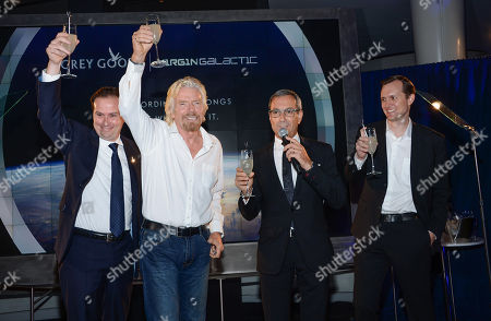 Editorial photo of Grey Goose and Virgin Galactic Global Partnership Event, New York, USA - 22 Sep 2014