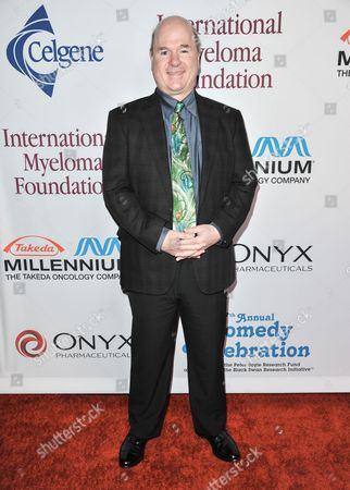 Larry Miller arrives at the International Myeloma Foundation 7th Annual Comedy Celebration at The Wilshire Ebell Theatre on in Los Angeles