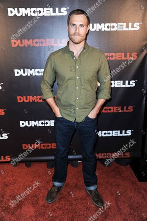 Logan Mulvey arrives at the LA Premiere of 'Dumbbells' at Supperclub on in Los Angeles