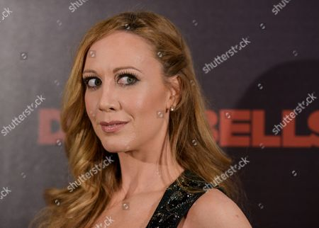 Stock Photo of Renee Percy arrives at the LA Premiere of 'Dumbbells' at Supperclub on in Los Angeles