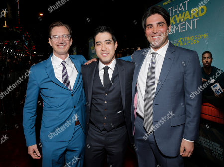 Producers Scott Aversano, Kevin Turen and Justin Nappi attend the Los Angeles Premiere of 'That Awkward Moment' Premiere, on Monday, January, 27, 2014 in Los Angeles