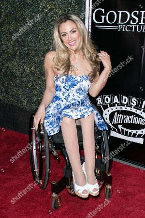 """Tiphany Adams arrives at the LA Premiere of """"Where Hope Grows"""" held at Arclight Cinemas Hollywood on in Los Angeles"""