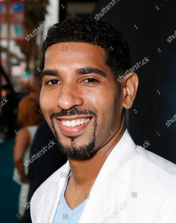 """Stock Image of Evan Cleaver arrives at the LA premiere of """"The Host"""" at the ArcLight Hollywood on in Los Angeles"""