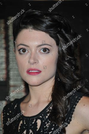 Stock Picture of Hannah Fierman attends the LA premiere of V/H/S at Mann Chinese 6 Theatres, in Los Angeles