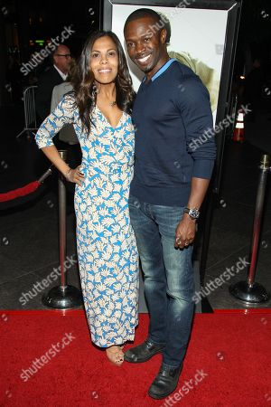 "From left, actors Aonika Laurent and Sean Patrick Thomas arrive at the special screening of ""12 Years A Slave"" at the Directors Guild of America on in West Hollywood, Calif"