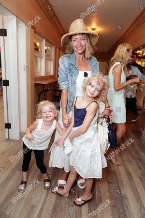 Georgia Geraldine Dane, Rebecca Gayheart and Billie Beatrice Dane seen at Levi's Brand Back to School event hosted by Au Fudges's Jessica Biel and Estee Stanley at Au Fudge, in Los Angeles, CA