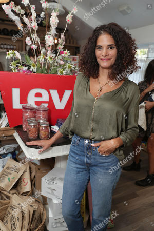 Ashley Dyke seen at Levi's Brand Back to School event hosted by Au Fudges's Jessica Biel and Estee Stanley at Au Fudge, in Los Angeles, CA