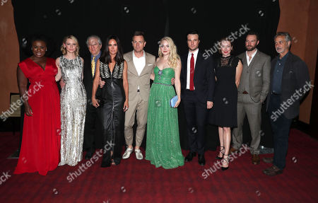 "Uzo Aduba, Valorie Curry, Peter Riegert, Jennifer Connelly, Jennifer Connelly, Director Ewan McGregor, Dakota Fanning, Rupert Evans, Molly Parker, Mark Hildreth and David Strathairn are seen at Lionsgate's ""American Pastoral"" Premiere at the 2016 International Film Festival, in Toronto"