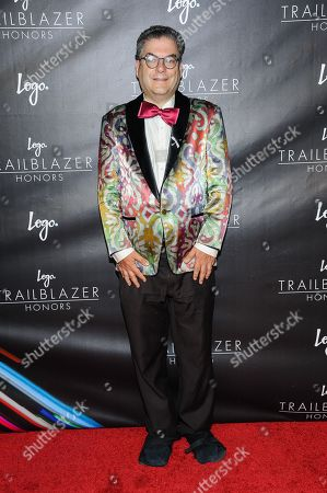"""Michael Musto attends Logoâ?™s third annual """"Trailblazer Honors"""" at The Cathedral of St. John the Divine, in New York"""