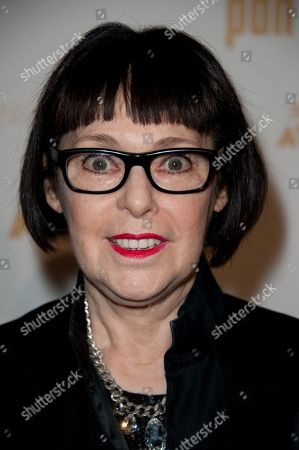 Stock Picture of Roxanne Lowit arrives at the Lucie Awards, in Beverly Hills, Calif