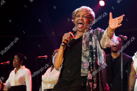 Cissy Houston performs during McDonald's Gospelfest 2013 at the Prudential Center on in Newark, NJ