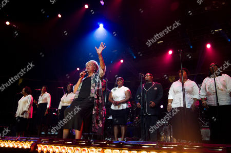 Cissy Houston performs during McDonald's Gospelfest 2013 at the Prudential Center on in Newark, N.J