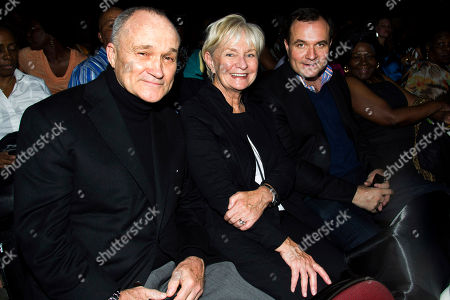 New York City Police Commissioner Ray Kelly, left, Veronica Kelly and Greg Kelly attend McDonald's Gospelfest 2013 at the Prudential Center on in Newark, N.J