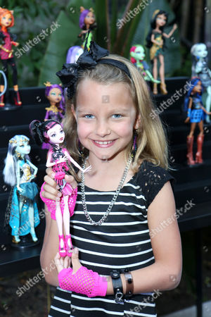 Stock Picture of In this image released on Mar. 25, 2014, Livvy Stubenrauch attends the Monster High Frights, Camera, Action! Film Premiere,, in Los Angeles