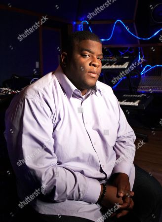 This photo shows Grammy-nominated producer Salaam Remi posing for a portrait at his studio in New York. Remi, best known for his work with Amy Winehouse and Nas, is nominated for non-classical producer of the year at Sunday's Grammy Awards. Last year, his production credits include songs on Nas' Life Is Good and Miguel's Kaleidoscope Dream, as well as Alicia Keys' R&B hit Girl on Fire.â