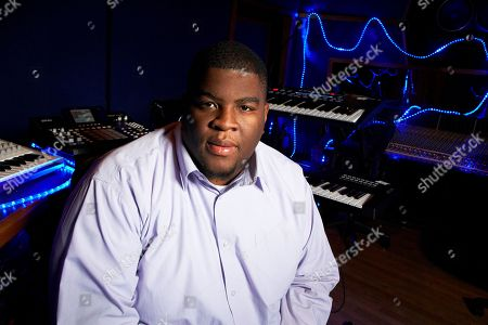 Stock Image of This photo shows Grammy-nominated producer Salaam Remi posing for a portrait at his studio in New York. Remi, best known for his work with Amy Winehouse and Nas, is nominated for non-classical producer of the year at Sunday's Grammy Awards. Last year, his production credits include songs on Nas' Life Is Good and Miguel's Kaleidoscope Dream, as well as Alicia Keys' R&B hit Girl on Fire.â