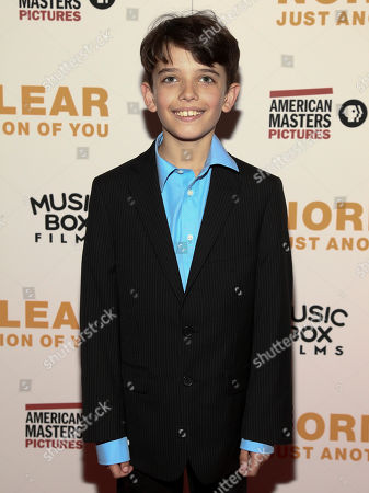 "Keaton Nigel Cooke attends the premiere of, ""Norman Lear: Just Another Version of You"", at the Walter Reade Theater, in New York"