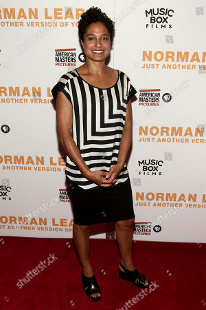 """Shola Lynch attends the premiere of, """"Norman Lear: Just Another Version of You"""", at the Walter Reade Theater, in New York"""