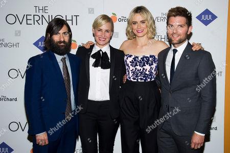 "Editorial photo of NY Premiere Of ""The Overnight"", New York, USA - 18 Jun 2015"
