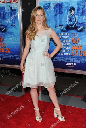 """Actress Devon Werden attends the premiere for """"The Way, Way Back"""" at the AMC Loews Lincoln Square on in New York"""