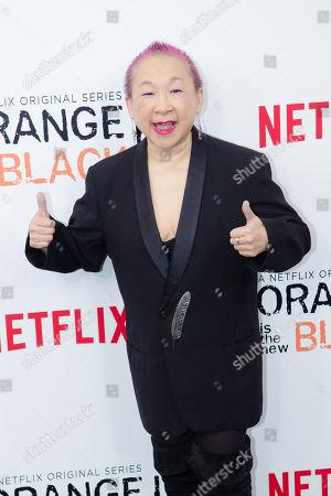 "Lori Tan Chinn attends Netflix's ""Orange Is The New Black"" Season 2 premiere at the Ziegfeld Theatre, in New York"