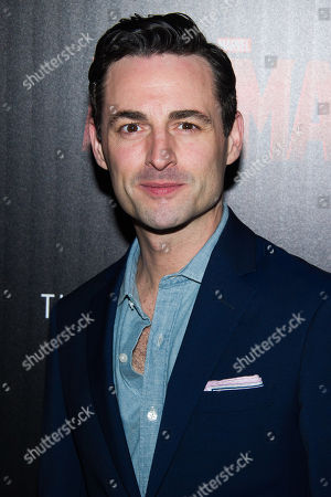 """Max von Essen attends a special screening of """"Ant-Man"""" hosted by The Cinema Society and Audi at the SVA Theatre, in New York"""