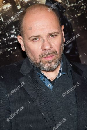 """Stock Picture of Olivier Megaton attends a """"Taken 3"""" screening on in New York"""