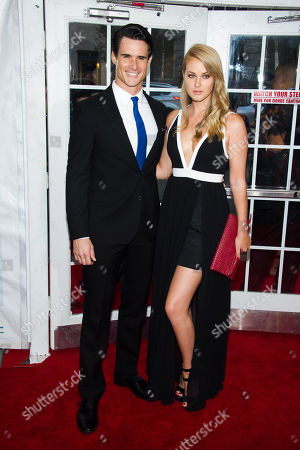 Nick Ballard and Natalie Fabry attend the premiere of Lexus Short Films on in New York