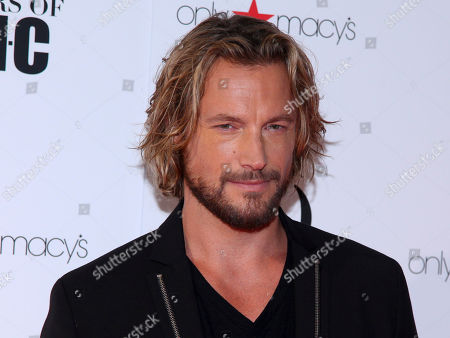 Gabriel Aubry attends the New York Fashion Week Spring/Summer 2016 30 Years of INC celebration at the IAC Building, in New York