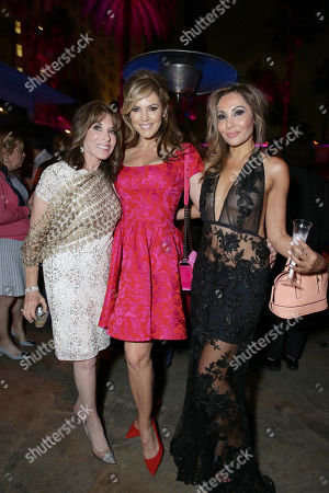 "Kate Linder, Sandra Taylor and Wedil David seen at Open Road Presents the World Premiere of ""Mother's Day"" at TCL Chinese Theatre, in Hollywood"