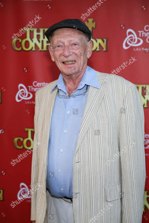 """Actor Alan Mandell poses during the arrivals for the opening night performance of """"The Last Confession"""" at the Center Theatre Group/Ahmanson Theatre, in Los Angeles, Calif"""