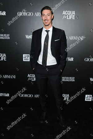 Eric Balfour attends the Georgio Armani party to celebrate Paris Photo Los Angeles at Paramount Studios on in Los Angeles